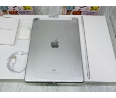 iPad 7 New 2019 (10.2 in) 128G Silver (Trắng) Wifi + Cell (Có xài Sim) / New 100% Full Box / MS: 0592