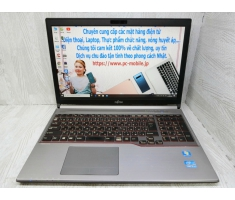 Fujitsu LIFEBOOK E753  Mode2014  15.6inch Full HD / Nặng 1,85Kg / Core i5  / 3340M /2.70GHz / 4G / HDD 320G.Win 10Pro Tiếng Việt.Made in Japan.MS:KO0420  0080