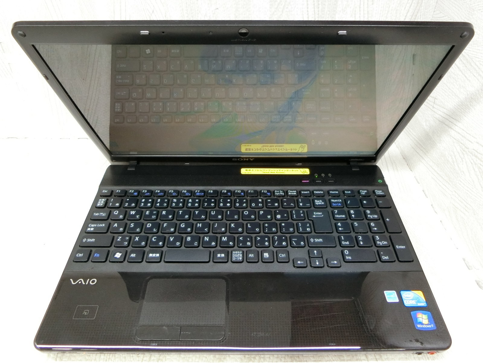 "SONY Vaio 71311N 15.6"" Core i5 / M520 / 2.40GHz  / 4G / SSD 128G. MS:T0606 7791"