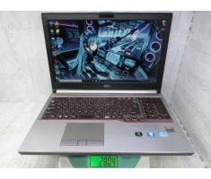 Fujitsu LIFEBOOK E730  Mode2014  15.6inch Full HD / Nặng 2.8Kg / Core i5  / 4300M /2.60GHz /ram 8G (Max 32G)/ SSD 128G / car rời NVIDIA Quardo k1100M 2G.Win 10Pro Tiếng Việt.Made in Japan .MS: W 0001