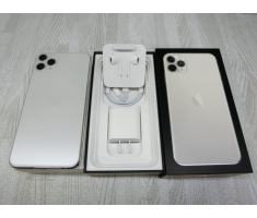 IPhone 11 Pro Max (6.5 in) 256G Lock AU; Silver (Trắng) New 100% FullBox .MS: ON 6993