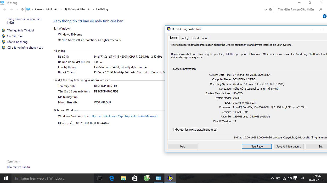 "LENOVO G510 15 6"" Core i5 / 4210M/ 2 50GHz / 4G / HDD 500GB  MS"